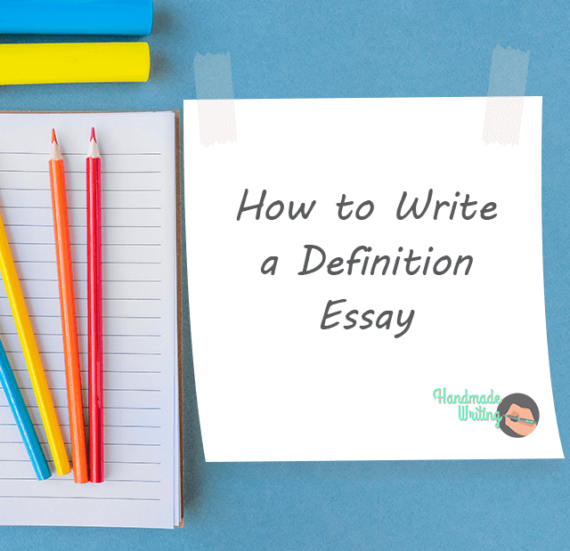 Definition Essay Outline