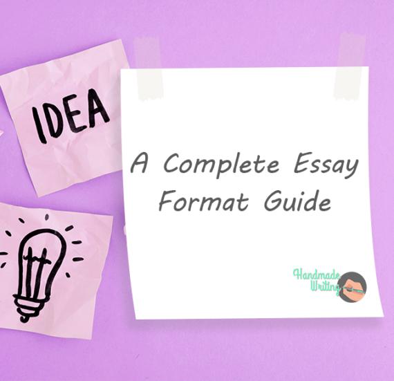 Essay Format Guide