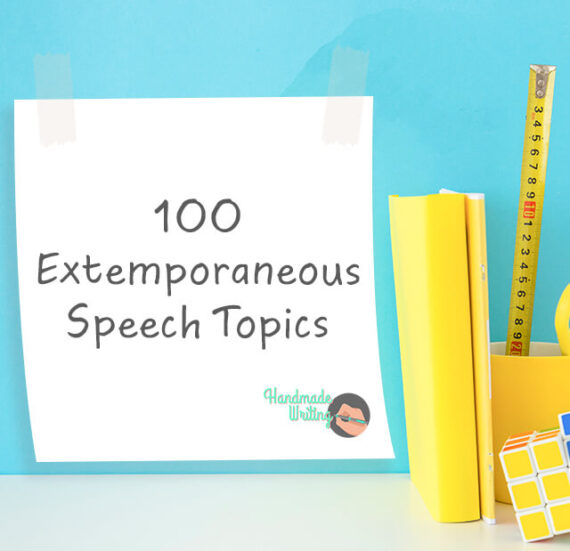 Extemporaneous Speech Topics