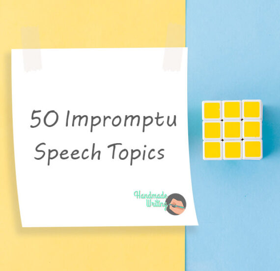 Impromptu Speech Topics