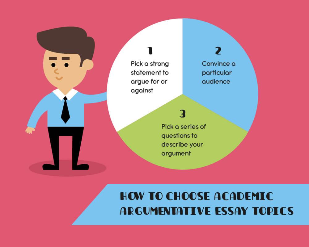 How to choose academic argumentative essay topics