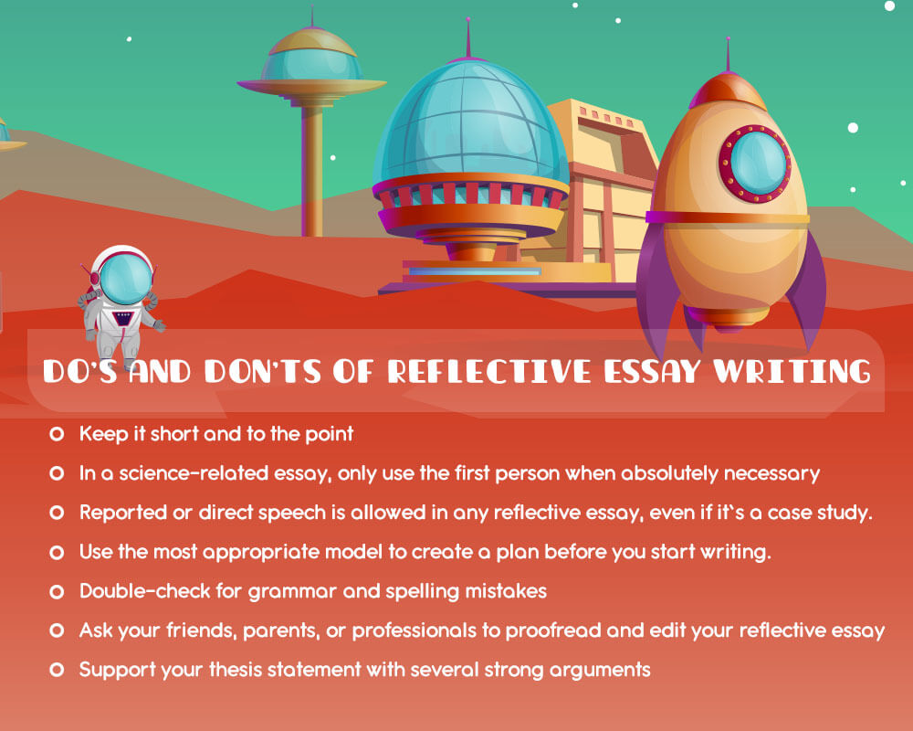 Do's and don'ts of reflective essay writing