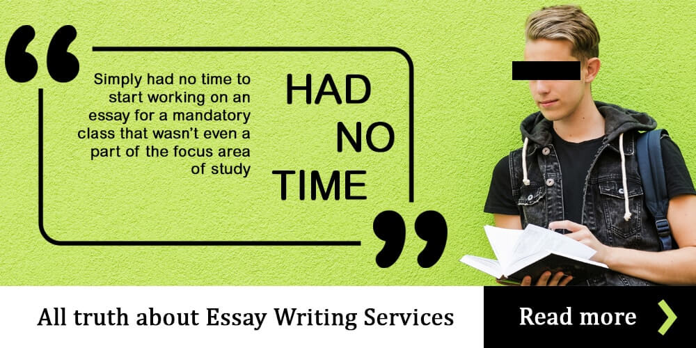 Truth about essay writing services