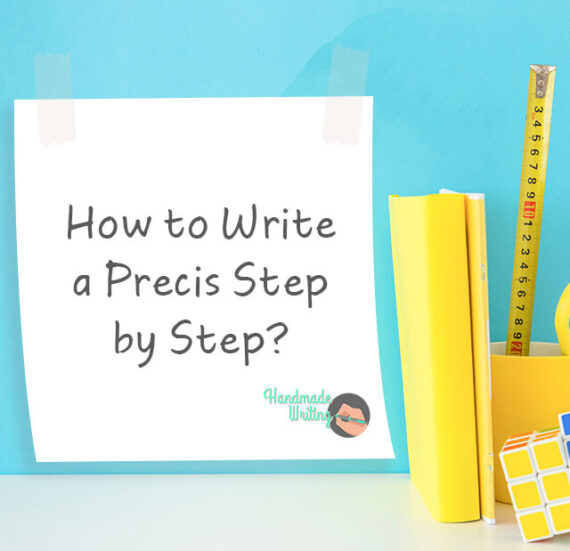 writing a precis