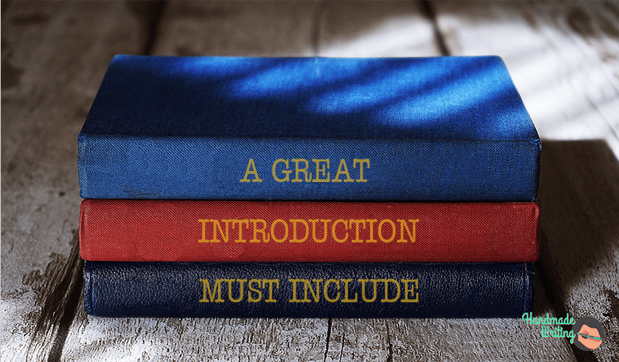 A great introduction must include