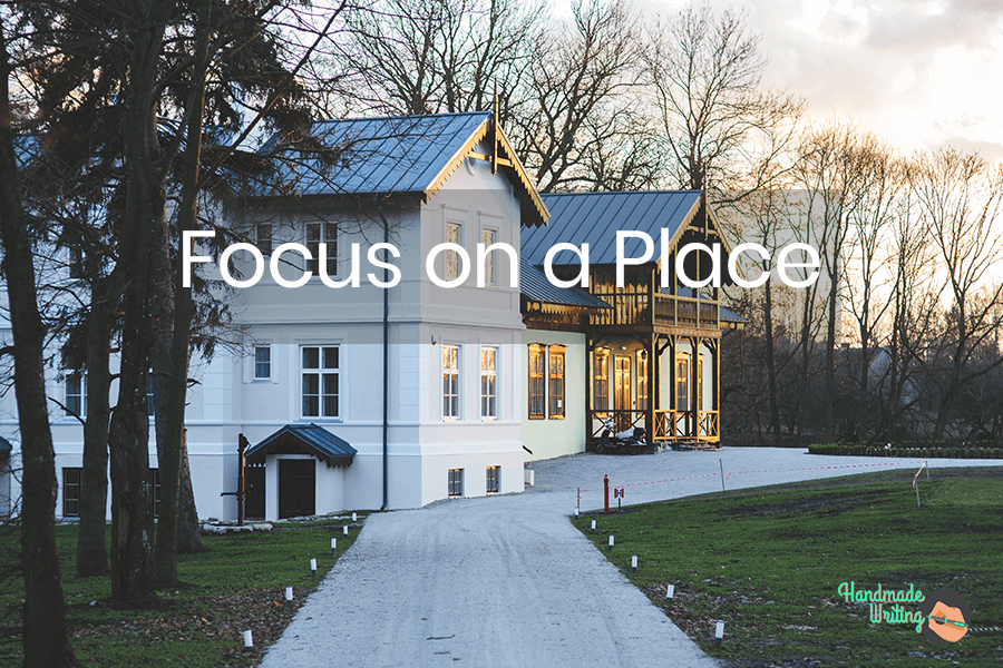 Focus on a place