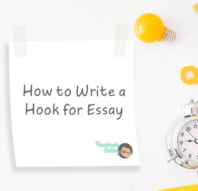 writing a hook for essay