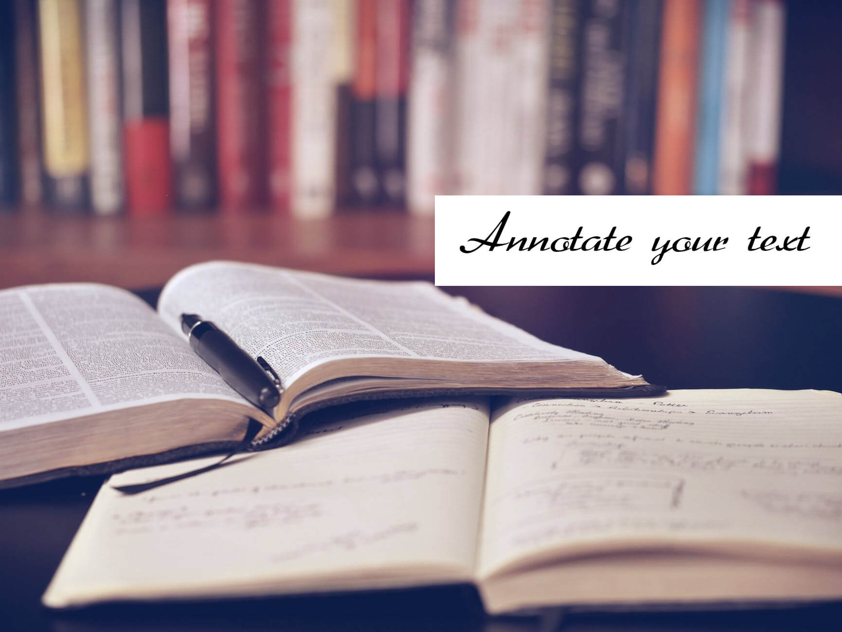Annotate your text