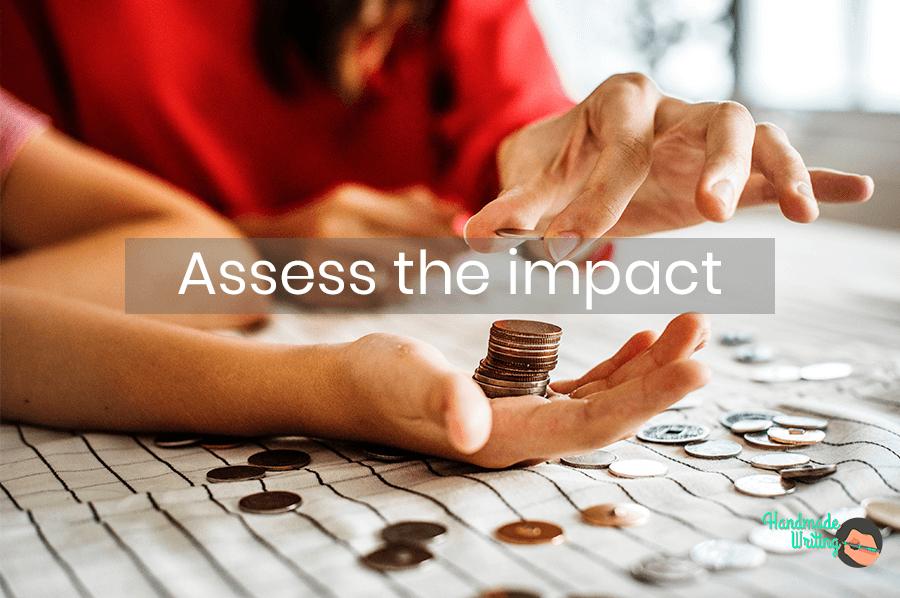 Assess the impact