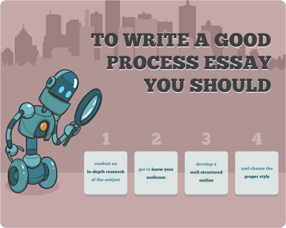 How to write an excellent process essay
