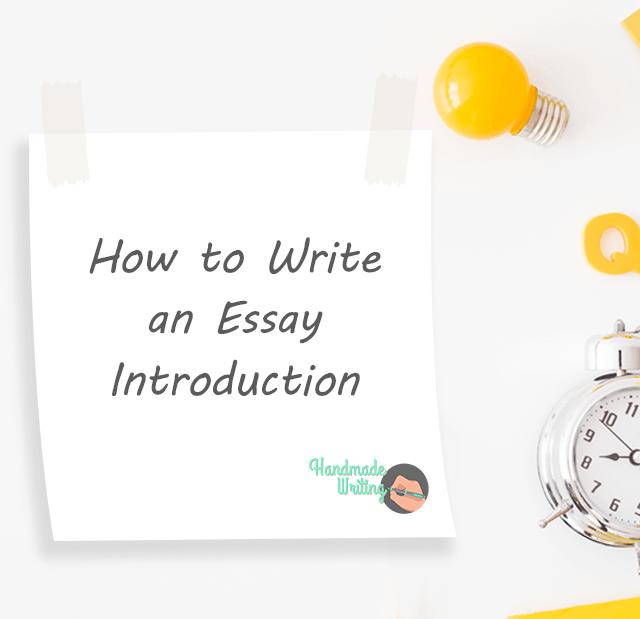 essay introduction