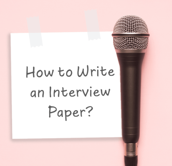 how to write an interview paper